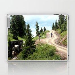 Black Bear Pass Road - Gold Rush Ore Loading Chute, No. 1 of 3 Laptop & iPad Skin