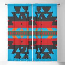 American Native Pattern No. 81 Blackout Curtain