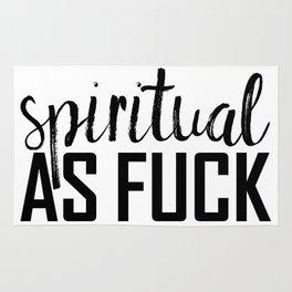 spiritual as fuck Rug