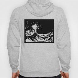 The Great Wave off Kanagawa [Teletext] Hoody