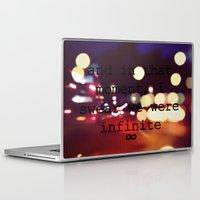 infinite Laptop & iPad Skins featuring Infinite by AliceAttack