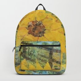 """Sunflowers In The Mist"" Backpack"