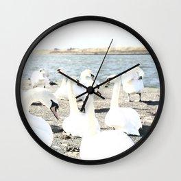 A royal gathering. Wall Clock