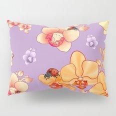 Orchids & Ladybirds Pillow Sham