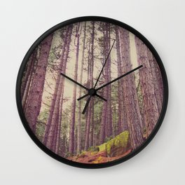 Forest of your Dreams Wall Clock