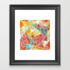 Hazy Summer Days Framed Art Print