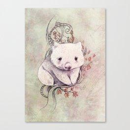 Wombat! Canvas Print