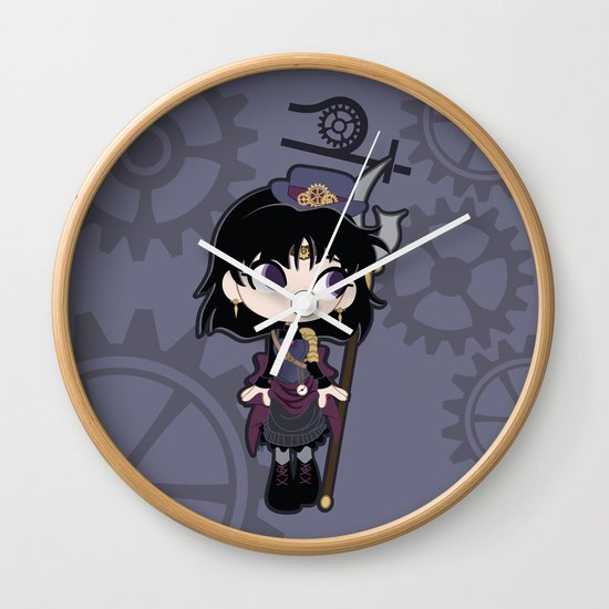 Steampunk Sailor Saturn - Sailor Moon Wall Clock