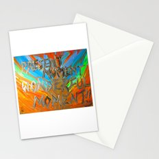 Present moment, wonderful moment Stationery Cards