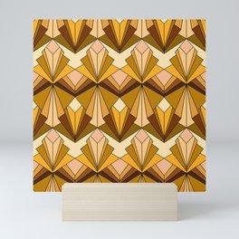 Art Deco meets the 70s Mini Art Print