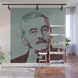 William Faulkner Wall Mural