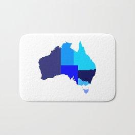 Australia State Silhouette Bath Mat
