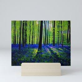 'Bluebells of the Rhode Island Spring' Landscape by Jeanpaul Ferro Mini Art Print