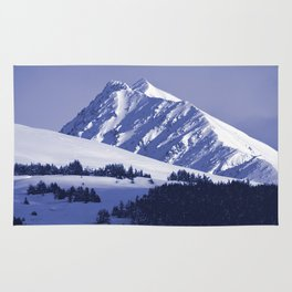 Back-Country Skiing - 8 Rug