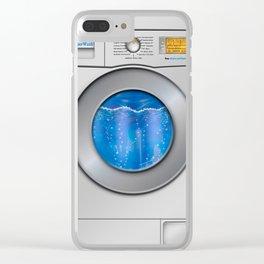 Washing Machine Clear iPhone Case