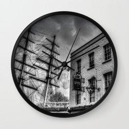 The Cutty Sark and Gypsy Moth Pub Wall Clock