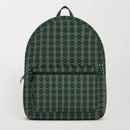 Meshed in Green Backpack