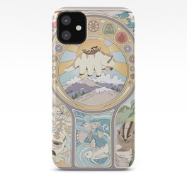 Team Avatar and Elements iPhone Case