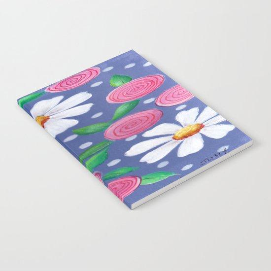 Daisey Pattern Notebook