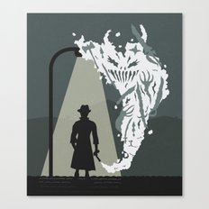 Shady Killer Canvas Print