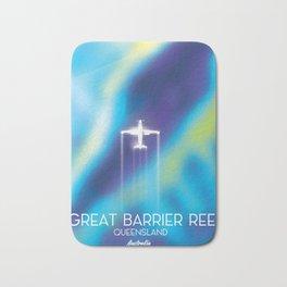 Great Barrier Reef , Queensland, Australia Bath Mat