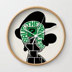 Save The Princess - Variant Wall Clock