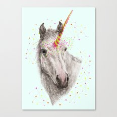 Unicorn V Canvas Print