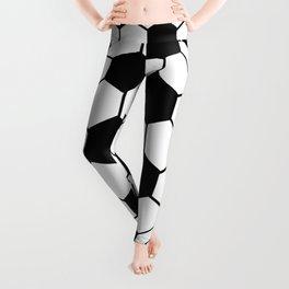 Black and White 3D Ball pattern deign Leggings