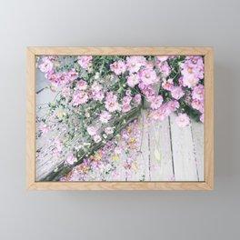 august Framed Mini Art Print