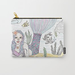 Mermaid! Carry-All Pouch
