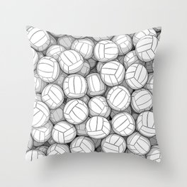 All I Want To Do Is Volleyball Throw Pillow