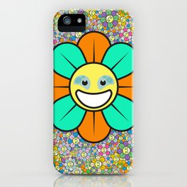 SUPER FLOWER POWER iPhone Case