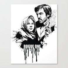 Fandom Inked » Rogue One Canvas Print