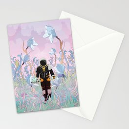 Collecting Samples Stationery Cards