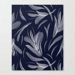 Digital floral Canvas Print