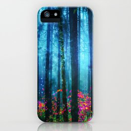 Magicwood #Night iPhone Case