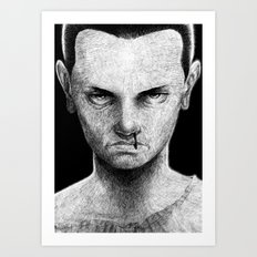 Mental (without text) Art Print