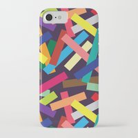 confetti iPhone & iPod Cases featuring Confetti by Joe Van Wetering