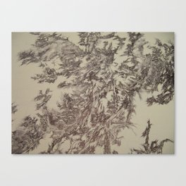 Digital Bunny-Segment 90 Canvas Print