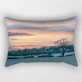Sunset & Snow Rectangular Pillow