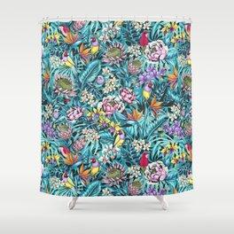 Stand out! (fresh aqua) Shower Curtain
