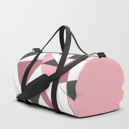 Abstraction . 4 geometric pattern Duffle Bag