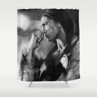 actor Shower Curtains featuring Native American  by Thubakabra