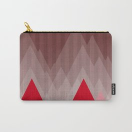 Triangular Mountain Range Carry-All Pouch