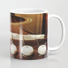6 strings at the bridge Coffee Mug