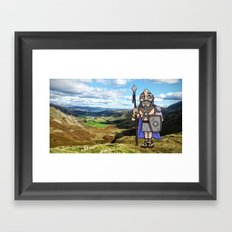 Carlin the Caledonian #2 Framed Art Print