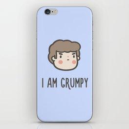 I Am Grumpy iPhone Skin