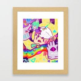 EATER Framed Art Print