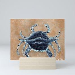 Blue Crab Mini Art Print