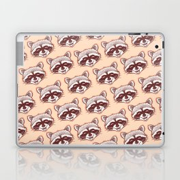 Happy raccoon Laptop & iPad Skin